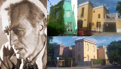 El poeta Elías Castelnuovo, vecino ilustre de esa porción de Liniers conocida como Mil casitas.