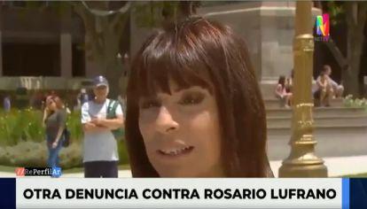 Nueva denuncia contra Rosario Lufrano