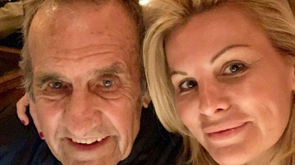 Carlos Reutemann con su hija Cora 20210527