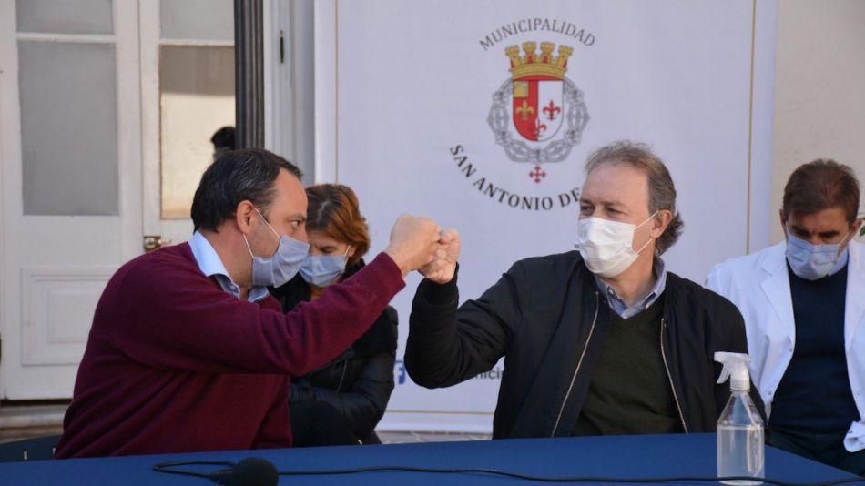 Francisco Ratto y Alejandro Krolewiecki