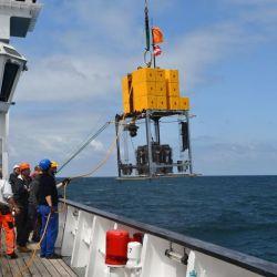 El contenido de mercurio en las muestras era más elevado que en cualquier otro sedimento de aguas profundas