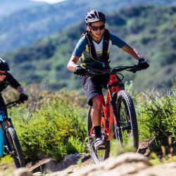 En el mountain bike entra en juego la mayor parte del cuerpo.