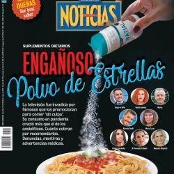 Tapa Nº 2318: Suplementos dietarios: Engañoso polvo de estrellas   Foto:Pablo Temes