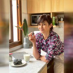Prepara un libro de pastelería y una plataforma de clases online. Además, sueña con su propio restaurante. | Foto:Gentileza Ximena Sáenz