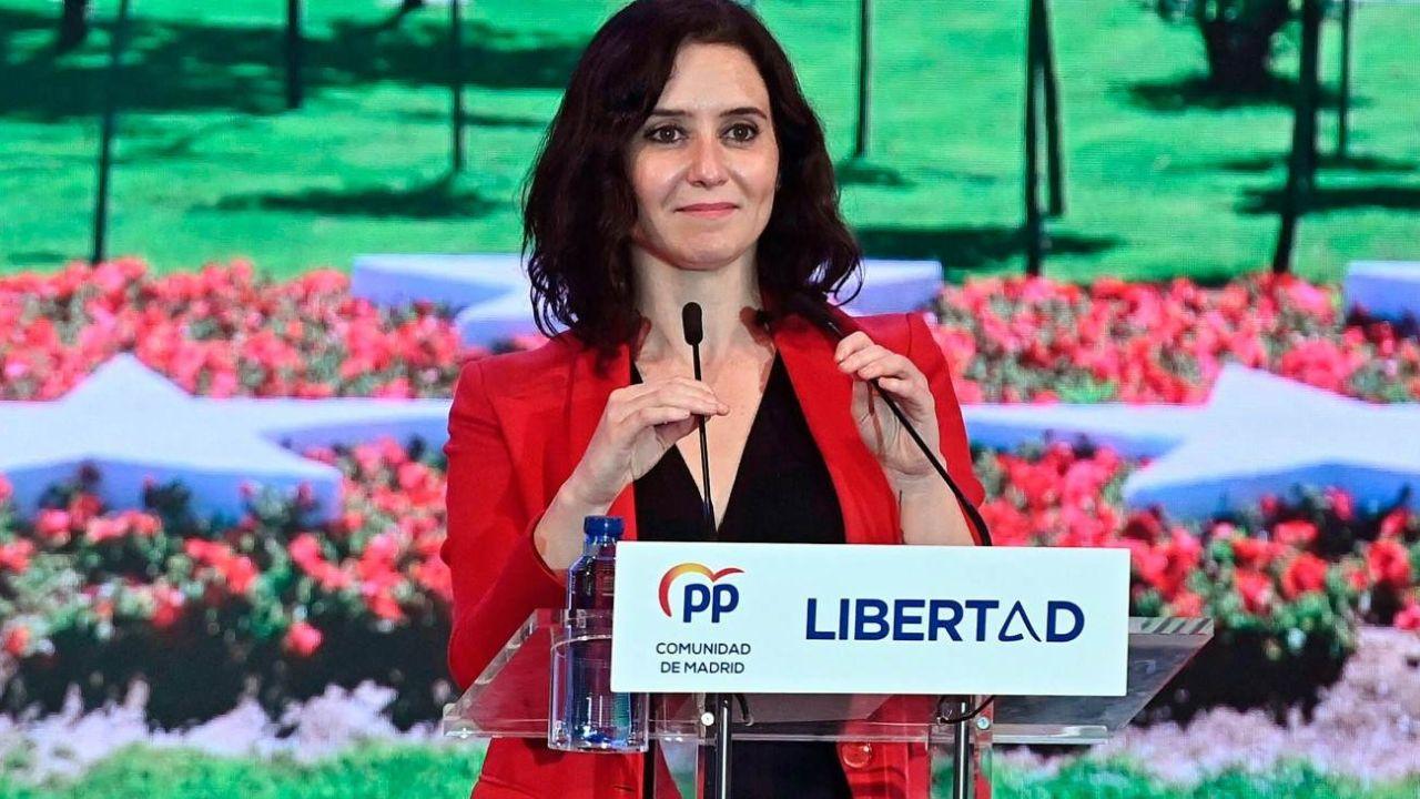 Díaz Ayuso busca desafiar a Pedro Sánchez | Foto:CEDOC