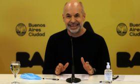 Buenos Aires City Mayor Horacio Rodríguez Larreta.