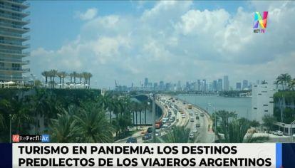 Turismo en Pandemia - Principales destinos