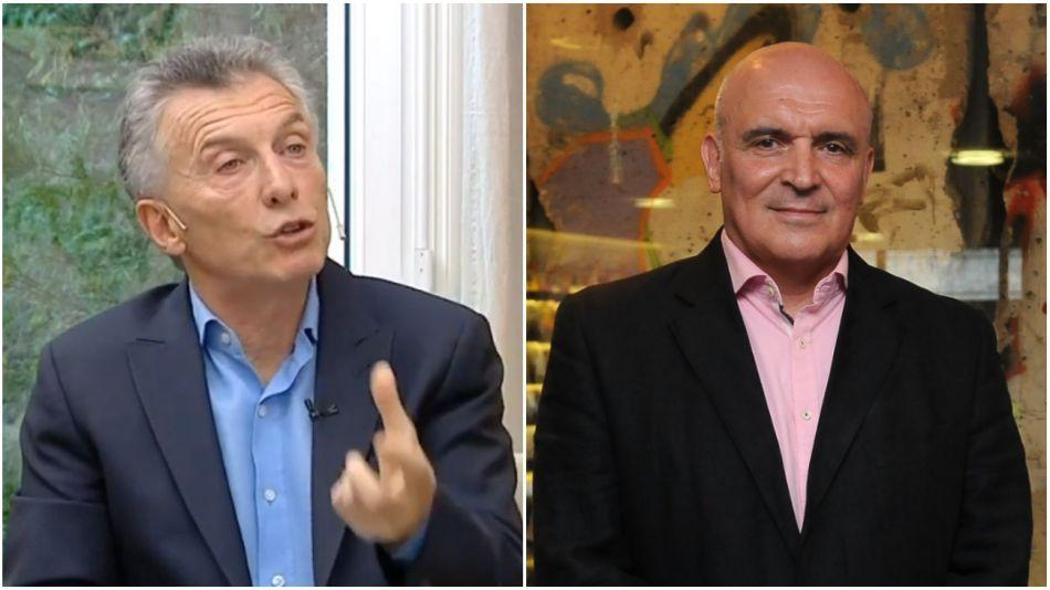 Mauricio Macri y José Luis Espert
