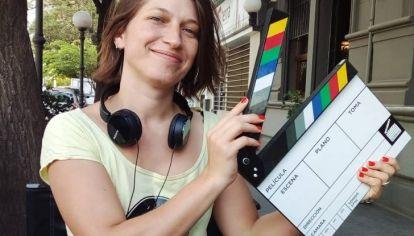 PREMIADA. En el marco de la Competencia Argentina del Festival Internacional de Cine de Mar del Plata, Garayalde recibió el Premio Acción a la Perspectiva de Género.