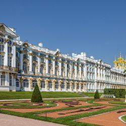 Palacio de Catalina, cerca de San Petersburgo, Rusia.