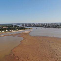 La bajante en el río Paraná lleva más de un año.