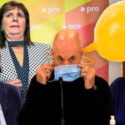 Mauricio Macri - Patricia Bullrich - Rodríguez Larreta - Lilita Carrió | Foto:cedoc