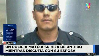 Un policía de la ciudad mató a su hija de 6 años