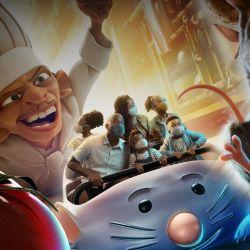 Remy's Ratatouille Adventure, en Epcot, un juego mecánico para cocinar con el ratoncito de la película animada Ratatouille.