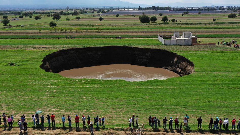 Hundimiento de tierra México 20210601