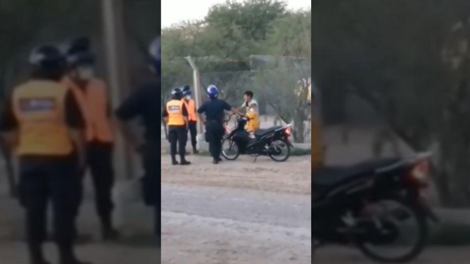 Santiago del Estero Niño Detenido