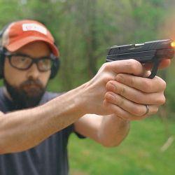 El reducido retroceso del calibre permite, con un poco de práctica, realizar rápidas secuencias de tiro con muy buena agrupación.