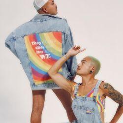 Levi´s y Versace tiñen de arcoíris su colección para sumarse al Pride 2021