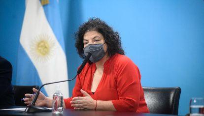 Carla Vizzotti ministra de salud