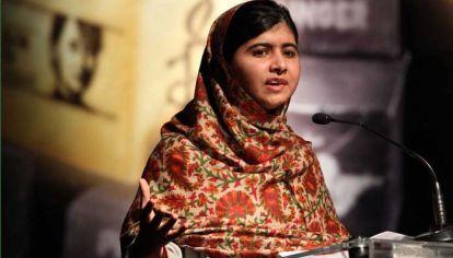 Malala Yousafzai, premio Nobel de la Paz.