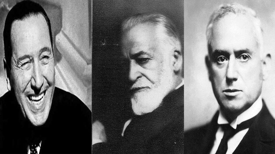 Juan Domingo Perón, Manuel Güiraldes y Benjamín Villafañe 20210602