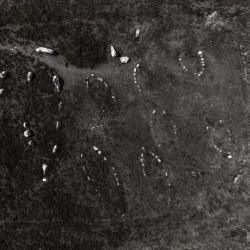 Los arqueólogos realizaron nuevos estudios detallados de la configuración de los barcos de la época vikinga en Hjarnø, Dinamarca,