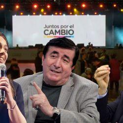 María Eugenia Vidal - Duran Barba - Mauricio Macri | Foto:cedoc