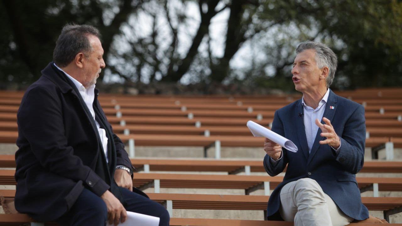 Macri presentó en Córdoba su libro | Foto:Cedoc