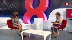 Sonsoles lee un poema erótico en la televisión española