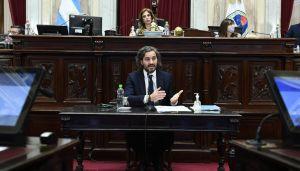 Informe del ministro Cafiero en el Senado 20210603