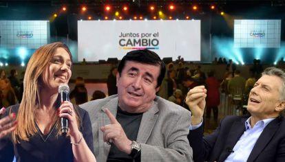 María Eugenia Vidal - Duran Barba - Mauricio Macri