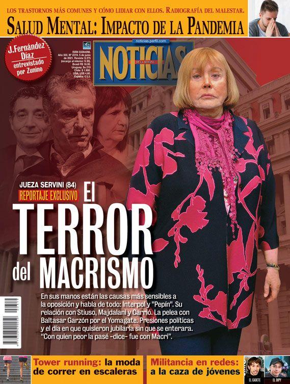 Tapa Nº 2319: Jueza Servini,elterror del macrismo | Foto:Pablo Temes