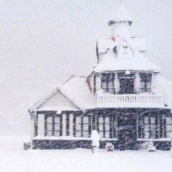 En muchos lugares la cantidad de nieve acumulada ya supera el metro.