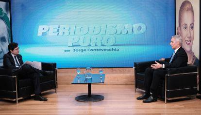 REPORTAJE DE FONTEVECCHIA A MARCELO FIGUEIRAS