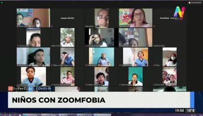 Zoomfobia en los niños
