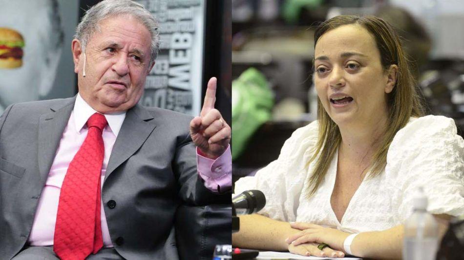 Eduardo Duhalde y Cecilia Moreau  20210604