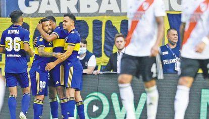 Superclásicos. Enfrentó veinte veces a River con la camiseta de Boca y convirtió cuatro goles.