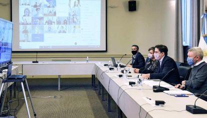 Virtual. Los responsables de las 24 jurisdicciones hablaron ayer con Nicolás Trotta y su equipo.