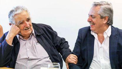 Vecinos. Mujica le recordó al presidente la importancia de la exportación.