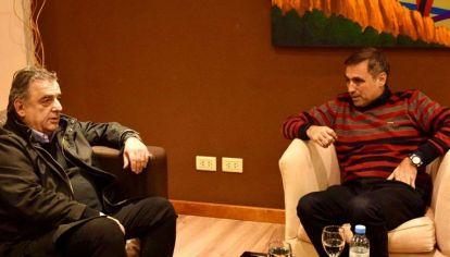 CONTROL. Negri y Mestre, al igual que en la interna, se quedaron con el congreso partidario.