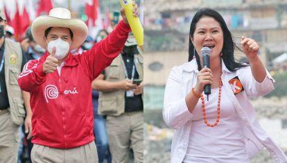 Él y ella. Castillo es maestro en zonas postergadas y se define como marxista leninista. Keiko, hija del dictador encarcelado, es anticomunista. Ambos son conservadores en la moral.