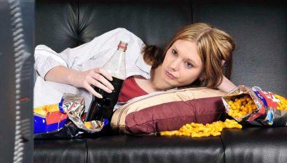Hábitos. El informe de Unicef revela obesidad en menores.