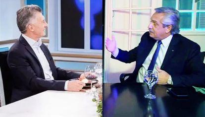 Qué quiero decir. Macri y Alberto, por negar, terminaron afirmando lo que no querían.