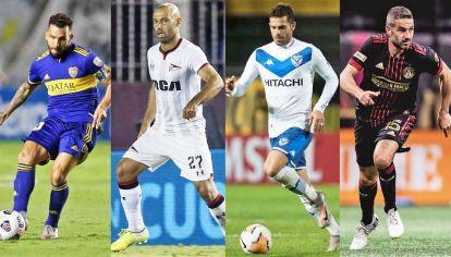 Nueva normalidad. Tevez, Mascherano, Gago y Lisandro López: cuatro bajas en pandemia.