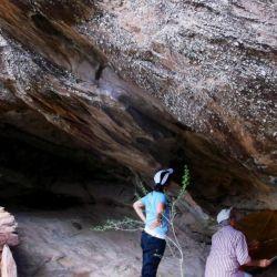 Los investigadores se encontraban realizando un relevamiento de cuevas y de aleros en el sitio Arroyo Cueva San Bernardo 4.