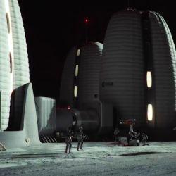 Titulado La vida más allá de la Tierra, el video nos presenta un pequeño asentamiento permanente en la Luna.