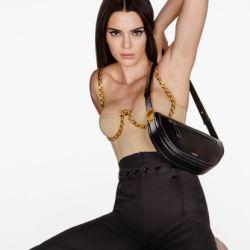 Kendall Jenner en Burberry