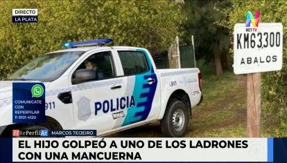 La Plata: padre e hijo mataron a dos delincuentes con un hacha y una mancuerna