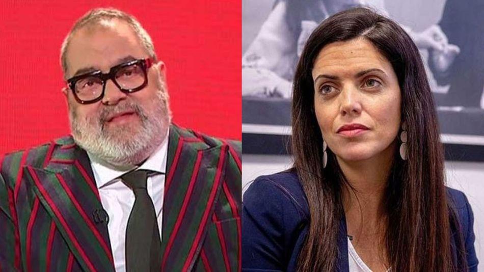 Jorge Lanata y Luana Volnovich 20210607