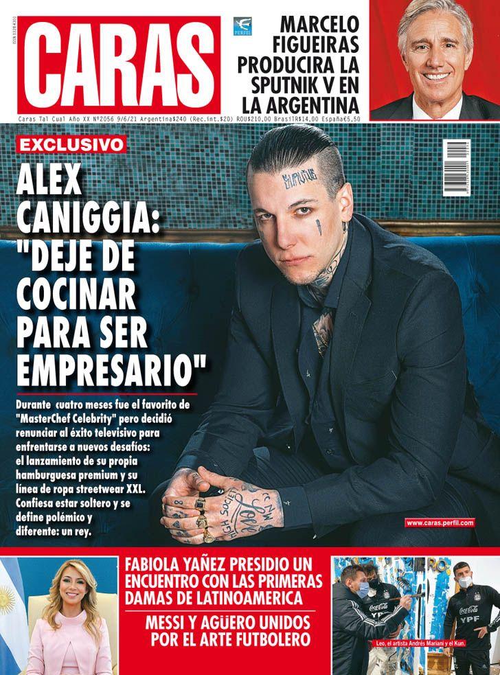 """Alex Caniggia: """"Deje de cocinar para ser empresario"""""""